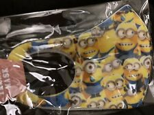 "(MN#2) 'Adult/Teens"" ~Minions~ FACE MASK - WASHABLE"