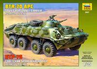 Maqueta BTR-70 Russian personal carrier (Afgan War) Kit para montar 1/35  Zvezda