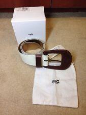 100% authentic D&G Dolce & Gabbana Belt   new L 34 / 85