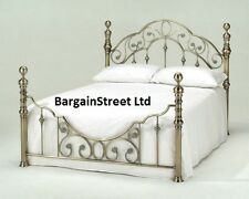 New Luxury King Size 5ft Brass Bed Frame Bedstead