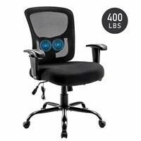 400lbs New Ergonomic Mid-back Mesh Fabric Back Computer Office Chair Desk Swivel