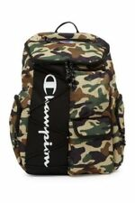 NWT Camo or Blk Champion Forever Expedition & Utility Backpack Laptop School Bag