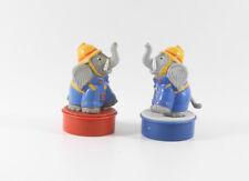 Benjamin Blümchen === 2 x Elefanten Stempel Figuren Bully TÖRÖÖ