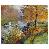 Claude Monet Gemälde The Studio Boot