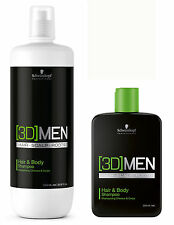 [3D] MENSION Hair & Body Shampoo 1250 ml Schwarzkopf NEU!
