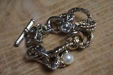 Armband * Gold Perle * Mondän Schick * Maritim * Monaco Flair * Hand Accessoire
