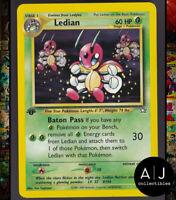 Ledian 39/111 1st Edition Neo Genesis Set Non-Holo WOTC Pokemon Card TCG NM/MT