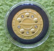 Latvia 2018 75 Euro Gold Brooches Bubble PROOF Fibula Coin LOW MINTAGE PERFECT!