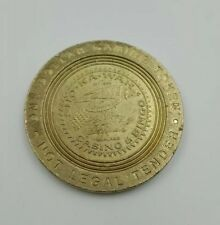 Casino $1 Gaming Token Sho-Ka-Wah Band of Pomo Indians Hopeland Reservation