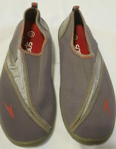 Speedo Beach Water Shoes Gray  Adult 11