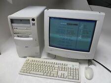 AST Advantage! 9414 Pentium MMX 200MHz 64MB 0HD Tower PC with 7U CRT Monitor