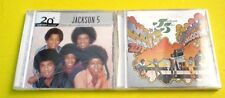 Jackson Five CDs Goin' Back to Indiana & The Best Of Millennium Collection NEW!
