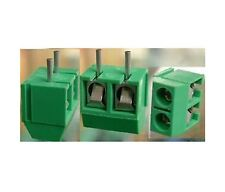 20pcs 2 Pin Screw Terminal Block Connector 5mm Pitch G