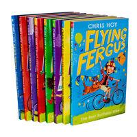 Flying Fergus Collection Series Sir Chris Hoy (1-8) Best Birthday Bike 8 Books