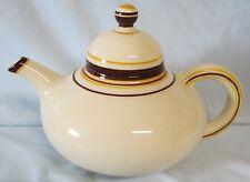 Franciscan Padua Cream and Brown Teapot