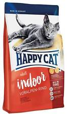 10 kg HAPPY CAT Adult Indoor Rind