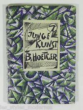 JUGENDSTIL Art Deco Buch ° Junge Kunst von Bernd Hoetger ° Einband Lithographie