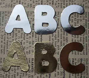 MIRROR CARD Alphabets Sets Letter Die Cuts Personalise Kids Names Scrapbooking