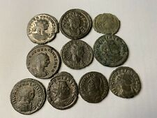 Lot Of 10 Roman Mix Bronzre Coins