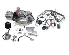 125cc 4-stroke Engine Motor Auto Electric Start Reverse ATV Go Kart + Wiring US