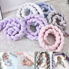 Baby Cot Bedding Infant Crib Woven Thick Plush Protection Pad Pillow 2M