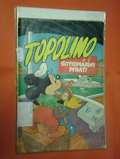 ALBO D'ORO-TOPOLINO n° 64-B-DEL 1953-SOTTOMARINI -DA LIRE 50-mondadori-disney
