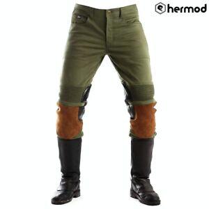 Fuel Motos Capitaine Moto Aramide Pantalon - Olive