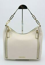 NWT MICHAEL Michael Kors Matilda White Leather Shoulder Bag Purse New $298