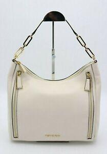 NWT MICHAEL Michael Kors Matilda White Leather Shoulder Bag Purse New $298
