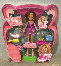 2005 Winx Club Flutter Magic Flora doll NRFB Mattel Season 1 Rainbow HTF Rare