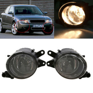 Fit For Audi A4 Quattro B6 12V Clear Front Bumber Fog Light Driving Lamp Bulb
