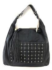 BIG BUDDHA Women's Black Faux Leather Jfinley  Style Handbag New