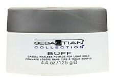 2 X SEBASTIAN COLLECTION BUFF CASUAL WAXLESS POMADE FOR LIGHT HOLD - 4.4 OZ EACH