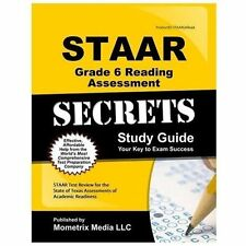 Staar Grade 6 Reading Assessment Secrets: Staar Test Review For The State Of ...