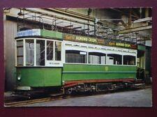 POSTCARD LLANDUDNO & COLWYN ELECTRIC RAILWAY TRAM NO 6