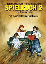 Oboe Noten : Spielbuch 2 Oboenschule 2 (Doemens Maiwald)  leMittel - mittelschw