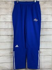 Adidas NCAA Women's Tulsa Golden Hurricanes Team Logo Climalite Woven Pants Sz L