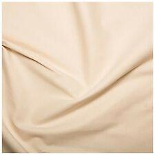 Natural Plain Woven Calico Fabric 100% Cotton Light / Medium Weight & Pre-Shrunk