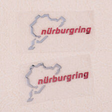 Nurburgring Map Window Glass Car Sticker Laptop Truck Silver Decal Sticker gl