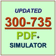 CCNP Automating Cisco Security Solutions SAUTO Test 300-735 Exam QA PDF+SIM