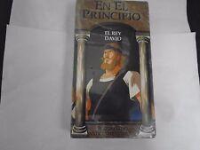EN EL PRINCIPIO - EL REY DAVID - HISTORIAS DEL ANTIGUO TESTAMENTO NEW VHS