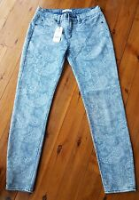 SEED HERITAGE Skinny Grey/Blue Jeans Size 10 BNWT  RRP $99.95