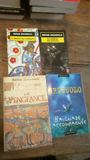Lot de 4 livres de Serge Brussolo baignade accompagnée l'armure de vengeance