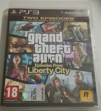 GRAND THEFT AUTO EPISODES FROM LIBERTY CITY GTA GIOCO PS3 PLAYSTATION 3 ITALIANO