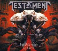 TESTAMENT - BROTHERHOOD OF THE SNAKE [DIGIPAK] * NEW CD
