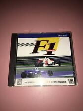 F1 Racing Simulation PC 1997 CIB Complete  Ubi Soft Video Game Rare