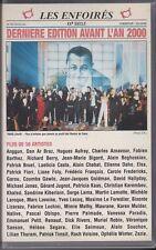 VHS LES ENFOIRES DERNIERE EDITION AVANT L'AN 2000