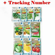10 Packs Mixed Seeds Thai Herbs Vegetable Fruit Summer Garden Easy Planting