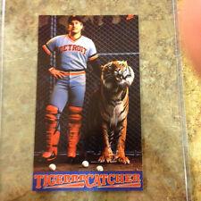 Lance Parrish Tiger Catcher Rare Nike Postercard MINT Condition, Detroit Tigers