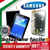 DISPLAY LCD+TOUCH SCREEN ORIGINALE COMPLETO x SAMSUNG GALAXY TAB 3 SM-T311 VETRO